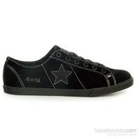 Converse 132945C Os One Star Lo Pro-Black-Amaranth Purple-Charcoal Unisex Spor Ayakkabı