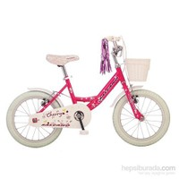 Salcano Cherry 16 Beyaz/Pembe Çocuk Bisikleti
