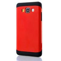 CoverZone Samsung Galaxy J7 Kılıf Çift Katmanlı Hard Case Kırmızı
