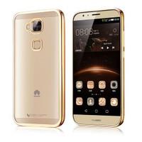 Microsonic Huawei Ascend G8 Kılıf Flexi Delux Gold