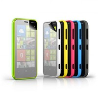 Vacca Nokia Lumia 620 Aynali Ekran Koruyucu Filmi