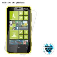 Vacca Nokia Lumia 620 Ultra Şeffaf Ekran Filmi
