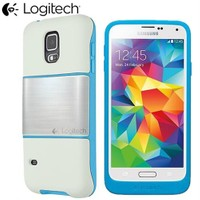 Coverzone Samsung Galaxy S5 Kılıf Orjinal Logitech Protection + Cam