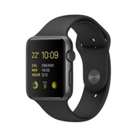 Apple Watch 42 Mm Uzay Grisi Alüminyum Kasa Siyah Spor Kordon Mj3t2tu/A Akıllı Saat