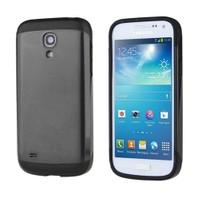 Microsonic Slim Fit Dual Layer Armor Samsung Galaxy S4 Mini Kılıf Siyah