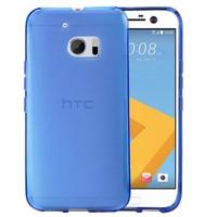 Microsonic Htc 10 Kılıf Transparent Soft Mavi
