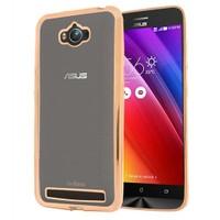 Microsonic Asus Zenfone Max 5.5 Kılıf Flexi Delux Gold