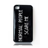 Köstebek American Horror Story - Normal People Scare Me İphone 4 - 4S Telefon Kılıfı