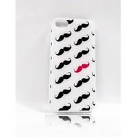 Köstebek Moustache İphone 5 Telefon Kılıfı