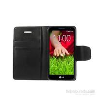 Case 4U LG G2 Mini Siyah Kapaklı Kılıf
