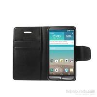 Case 4U LG G3 Siyah Cüzdan Kılıf
