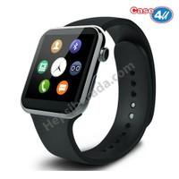 Case 4U Samsung iPhone Sony LG HTC A9 Akıllı Saat Siyah (IOS ve Android Uyumlu)*