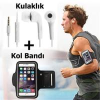 Exclusive Phone Case Asus Zenfone 4 Kol Bandı Spor Ve Koşu + Kulaklık