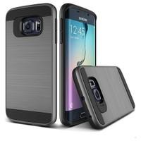 Teleplus Samsung Galaxy S7 Çift Katmanlı Kapak Kılıf Gri