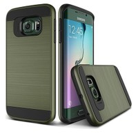 Teleplus Samsung Galaxy S7 Çift Katmanlı Kapak Kılıf Yeşil