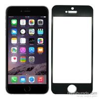 4Rmor Apple İphone 6/6S Alüminyum Metal Kenarlı Cam Ekran Koruyucu