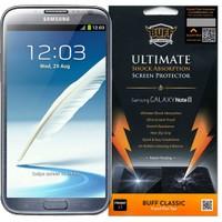 Buff Samsung Galaxy Note 2 Darbe Emici Ekran Koruyucu Film