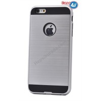 Case 4U Apple İphone 6 Plus Korumalı Kapak Gri