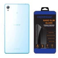 Cepsesuar Sony Xperia Z3 Plus Kılıf Silikon 0.2 Mm Mavi - Cam