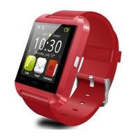 Berkev Akıllı Saat U8 Smart Watch Türkçe - Kırmızı