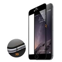 Microsonic İphone 6S Plus 3D Kavisli Temperli Cam Full Ekran Koruyucu Film Siyah