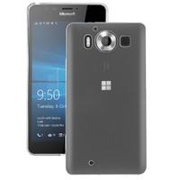 Microsonic Miscrosoft Lumia 950 Kılıf Transparent Soft Beyaz