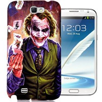 CoverZone Samsung Galaxy Note 2 Kılıf Resimli Kapak Joker