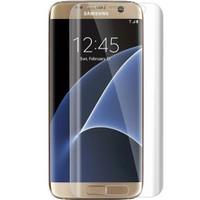 CoverZone Samsung Galaxy S7 Edge Kavisli Full Ekran Koruma Jelatini