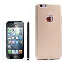 Cep Market Apple İphone 5 Kılıf Premier Silikon +Kalem+Cam