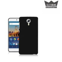 CaseCrown General Mobile 4G Android One 0.2 mm Ultra İnce Silikon Kılıf Siyah