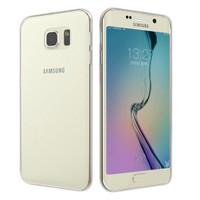 Microsonic Transparent Soft Samsung Galaxy S6 Edge Kılıf Beyaz