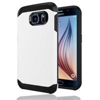 Microsonic Slim Fit Dual Layer Armor Samsung Galaxy S6 Kılıf Beyaz