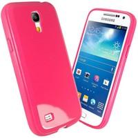 Microsonic Glossy Soft Kılıf Samsung Galaxy S4 Mini İ9190 Pembe
