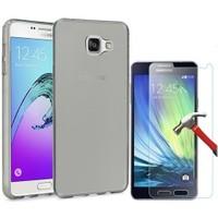 Kılıfshop Samsung Galaxy A3 2016 Silikon Kılıf + Ekran Koruyucu