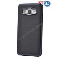 Case 4U Samsung Galaxy E5 Infinity Koruyucu Kapak Siyah