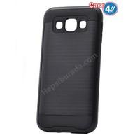 Case 4U Samsung Galaxy A8 Korumalı Kapak Siyah