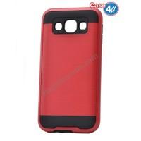 Case 4U Samsung Galaxy J7 Korumalı Kapak Kırmızı