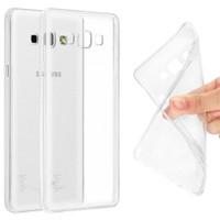 Ebox Samsung Galaxy A8 Şeffaf İnce Silikon Arka Kapak - EBX-0048