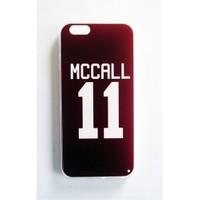 Köstebek Teen Wolf - Mccall 11 İphone 6 Telefon Kılıfı