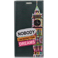 CoverZone Samsung Galaxy S6 Edge Plus Kılıf Kapaklı Dreams
