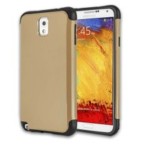 Microsonic Slim Fit Dual Layer Armor Samsung Galaxy Note 3 Kılıf Sarı