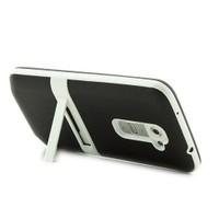 Microsonic Standlı Soft Lg G2 Kılıf Siyah
