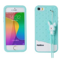 Fabitoo İphone 5S Candy Kılıf Turkuaz