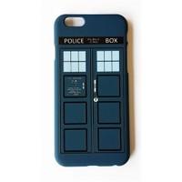 Köstebek Doctor Who - Tardis İphone 6 Telefon Kılıfı