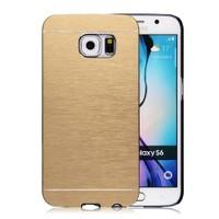 Microsonic Samsung Galaxy S6 Kılıf Hybrid Metal Gold