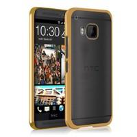 Microsonic Htc One M9 Kılıf Flexi Delux Gold