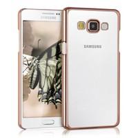 Microsonic Samsung Galaxy A7 Kılıf Flexi Delux Gold