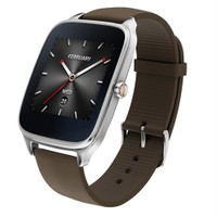"ASUS ZenWatch 2 Android Wear Smartwatch - 1.63"" Silver case"