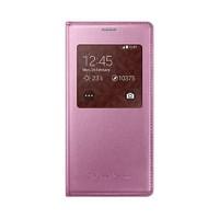 Samsung Galaxy S5 Mini Kılıf S-View Samsung Orjinal - Pembe Ef-Cg800bpegww