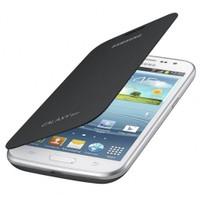 Samsung İ8552 Galaxy Win Flip Cover Kılıf Siyah EF-FI855BSEGWW